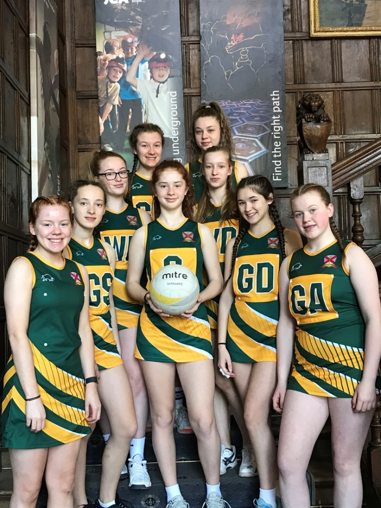 JCA netball tournament  at Condover 2019