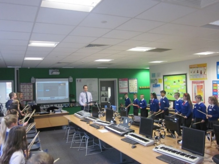 Year 5 Visits Music