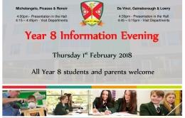 Year 8 Information Evening 2017