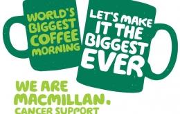 Macmillan Coffee Morning 2018