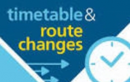 Change to Bus Timetables
