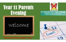 Year 11 Parents Evening Presentation