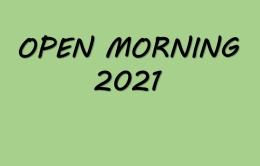 Open Morning 2021